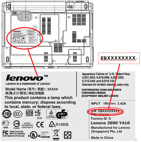 machine type and serial number are invalid x1 carbon