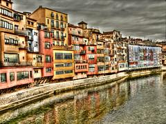Girona (GIAN.F) Tags: espaa rio river spain catalonia girona catalunya hdr catalua gerona onyar onar