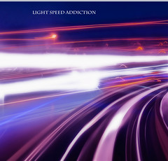 LIGHT SPEED ADDICTION (Eyesplash - There is a change in the air.) Tags: travel motion vancouver train moving tracks skytrain addiction orton lightspeed speedoflight