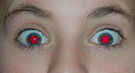 cadre-selection-outil-oeil-rouge