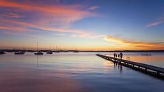 Central Coast Lake Macquarie 2 (jack(chau*)) Tags: sunset landscape dawn twilight belmont lakes australia nsw centralcoast lakemacquarie