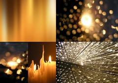 lightmoods (JonMartinTravelPhotography) Tags: light collage evening candle candlelight goldbrown rainsunset jonmartinphotography