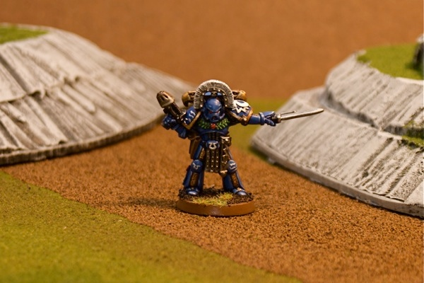 Ultramarine Captain.