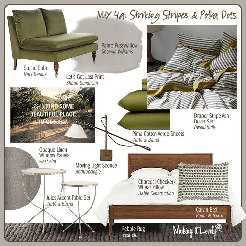 MiY 4a: Striking Stripes & Polka Dots
