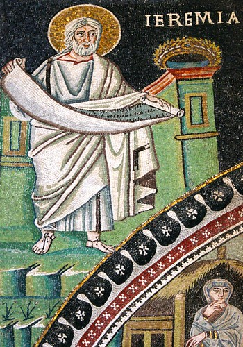 Jeremiah. Photo of a mosaic by Sacred Destinations on Flickr.