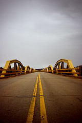 Hydro (musicaleyesight) Tags: bridge oklahoma yellow