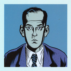 Daniel Clowes - self portrait (color)
