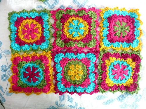 Wool Granny Squares