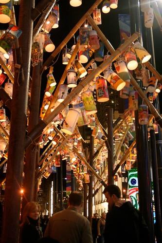 lantern forest on Granville