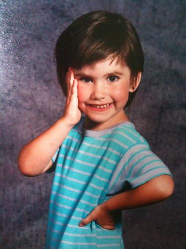 Me, circa 1991