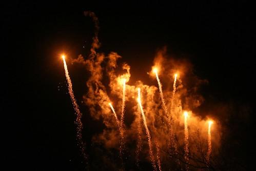 Yaletown fireworks