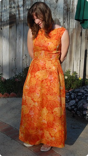 Creamsicle Dress Front