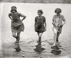 1924-Girls Gone Wild (ozfan22) Tags: ladies girls beach vintage swimsuit bathingsuit bathingbeauties wwwshorpycom