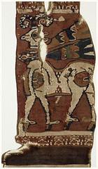 Sasanian textile 7thc Metropolitan Museum, New York (julianna.lees) Tags: ancient silk textiles sassanian