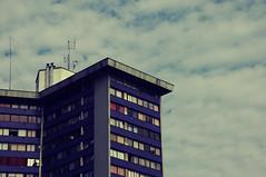 (Esteban Morales Sing Long) Tags: old school building tower architecture torre nikond70 edificio parquebustamante