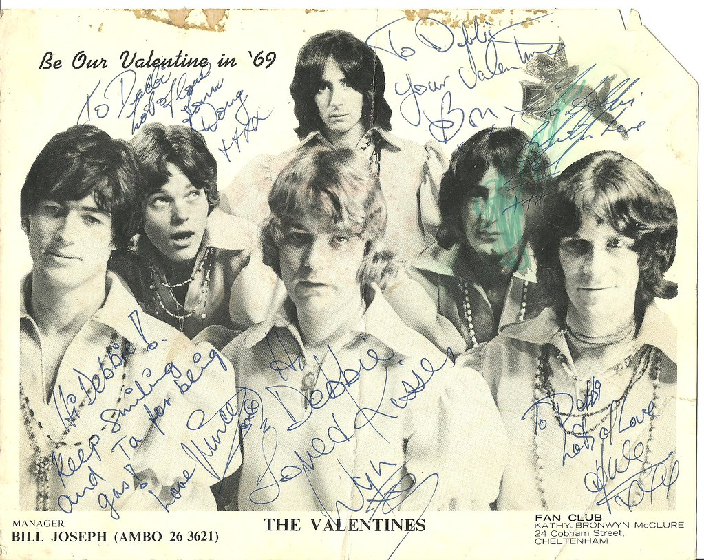 Valentines Signed Card