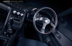 GTR interior (Kasper van Wallinga) Tags: red norway skyline canon silver norge nissan interior import steeringwheel jap gtr r32 30d kongsvinger nismo slideblog møllerbil wallinga bilfotograf kaspervanwallinga wallingablog