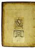 Front pastedown from Boethius: De consolatione philosophiae