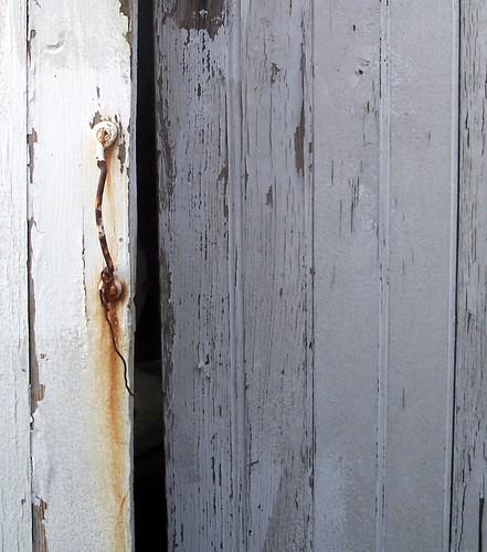 rusty handle