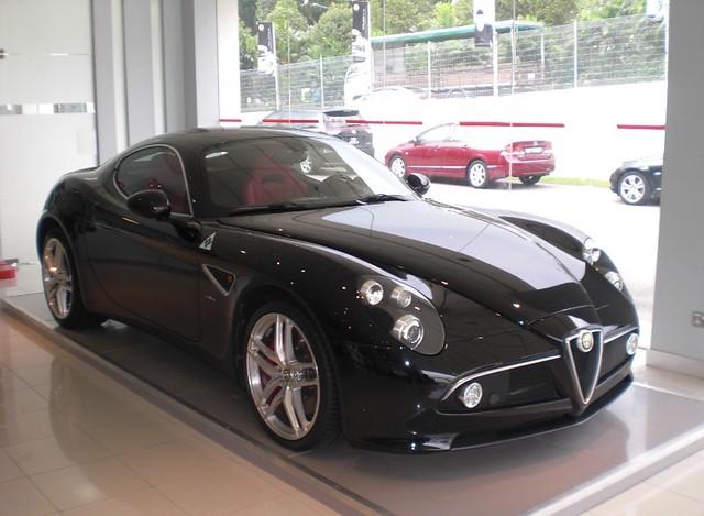 Alfa Romeo 8c Competizione Coupe. ALFA ROMEO 8C COMPETIZIONE COUPE IN SINGAPORE 163. another Alfa dealer in singapore ( they have 2 ) and another alfa romeo 8C now in black .i went