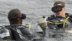 Dive School (rs4k2000) Tags: mask wetsuit rebreather respirator diveschool fullface