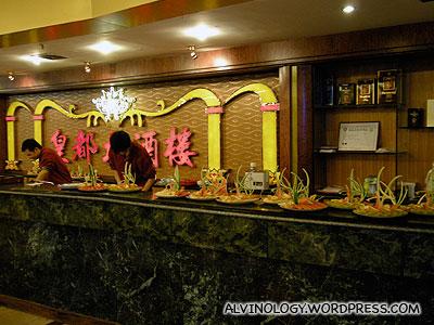 Temeisi hotel lobby