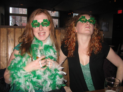 You couldnt possibly get anymore Irish. Unless we were actually Irish.