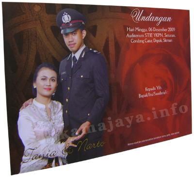 Undangan Pernikahan Tania & Narto