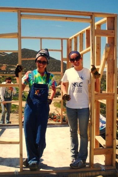 building houses in Mexico