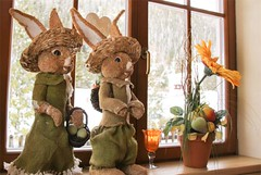 Osterhasen im Vierjahreszeiten (hotelvierjahreszeiten) Tags: ostern hintertux vierjahreszeiten