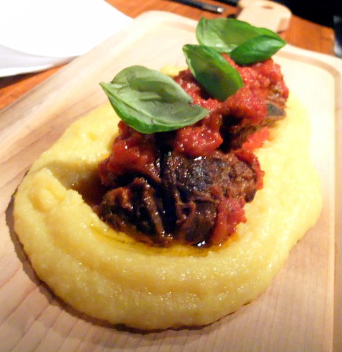 Braised Lamb and Pork with Polenta