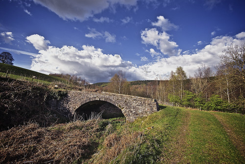 Bridge Over The Glamorganshire Canal At Pont-y-dderwen