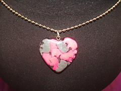 Elephant Sprinkles Heart Pendant (kcummings1217) Tags: elephant necklace candy heart sprinkles resin