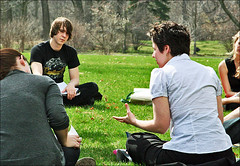 April 14 (Lake Forest College Daily Click) Tags: history college outside illinois spring class course collegeclass lakeforestcollege dailyclick liberalartscollege collegecourse