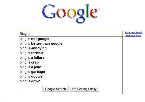 Bing is ...