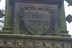 Sinclair arms at Rosslyn Chapel