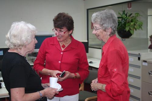 Eileen Dougan, Trish Levido & Margaret Evans