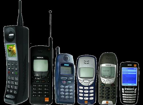 Evolución móviles