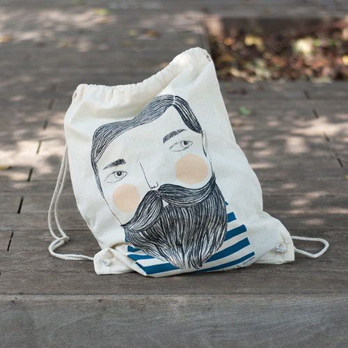 Bearded bag