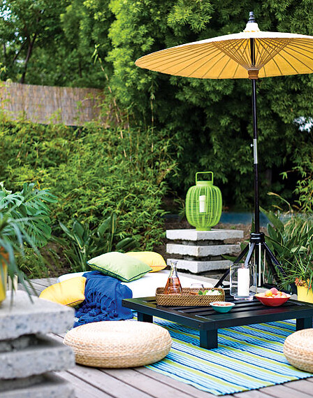1_Moroccan Summer Deck - via myhomeideas