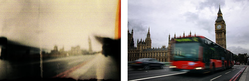Parliament - Pinhole Vs Digital