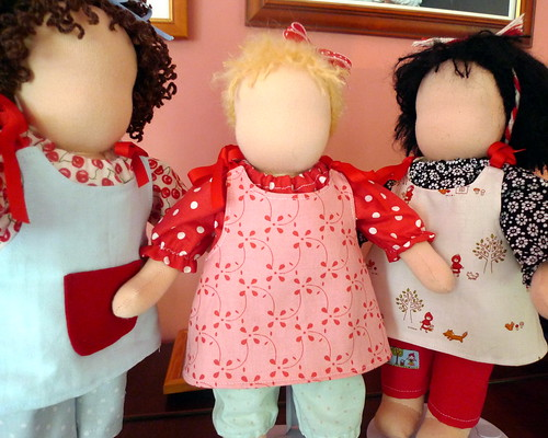 Three dolls for Cocoon