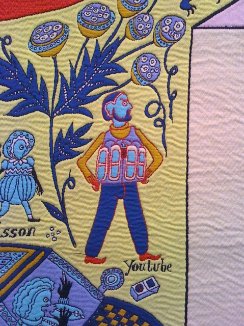 YouTube - Grayson Perry, Walthamstow Tapestry