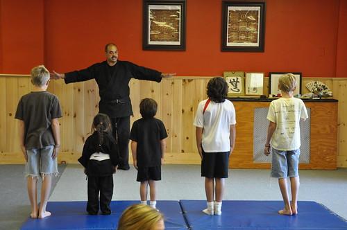 Boston Martial Arts class