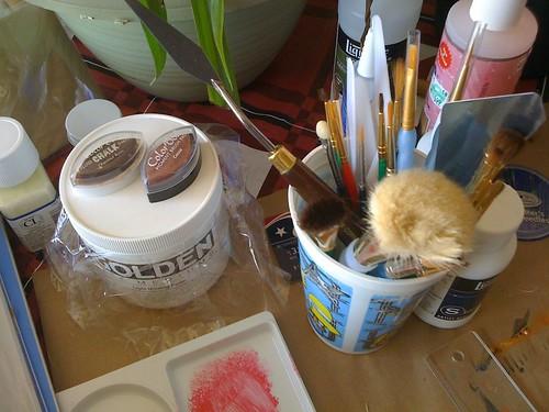 More Art Journaling Supplies