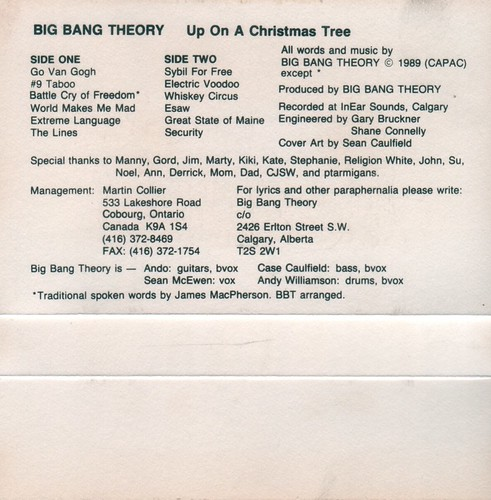 Big Bang Theory - Up On A Christmas Tree (inside)