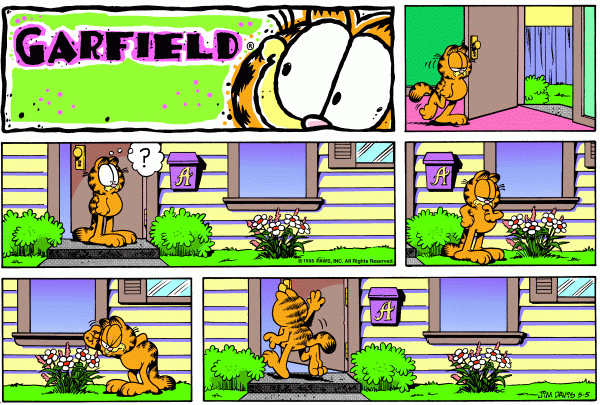 Garfield Minus Arbuckle, May 5, 1996