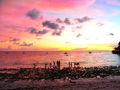Local fishing (Fyre-bird) Tags: sunset beach boracay phillipines diniwid worldwidelandscapes