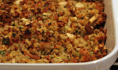 Cornbread and Sage Stuffing (Maggie Hoffman) Tags: thanksgiving stuffing gourmet recipes cornbread gourmetunbound