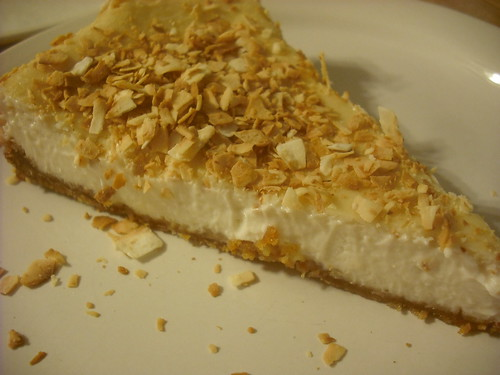 Triple Coconut Cheezcake
